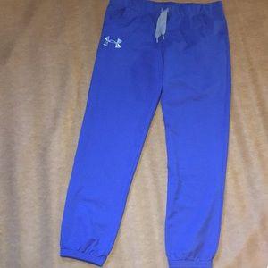 Under Armour Pants - Men's Under Armour Blue Joggers - Size Large